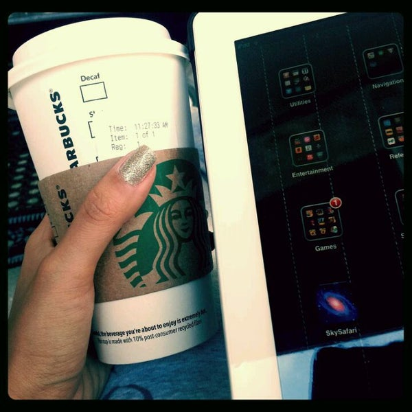 Photo taken at Starbucks by Mika ♥. on 3/31/2012
