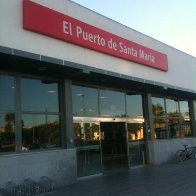 Estaci n ff cc el puerto de santa mar a train station in el puerto de santa mar a - Estacion de tren puerto de santa maria ...