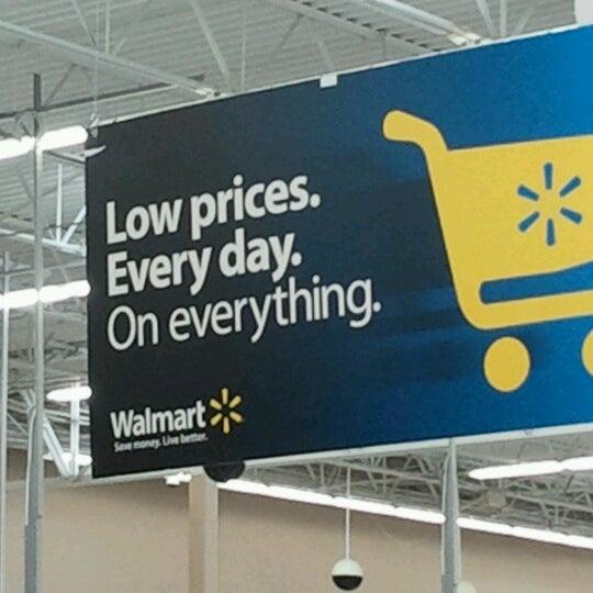 Photo taken at Walmart Supercenter by Rebekah B. on 6/22/2012