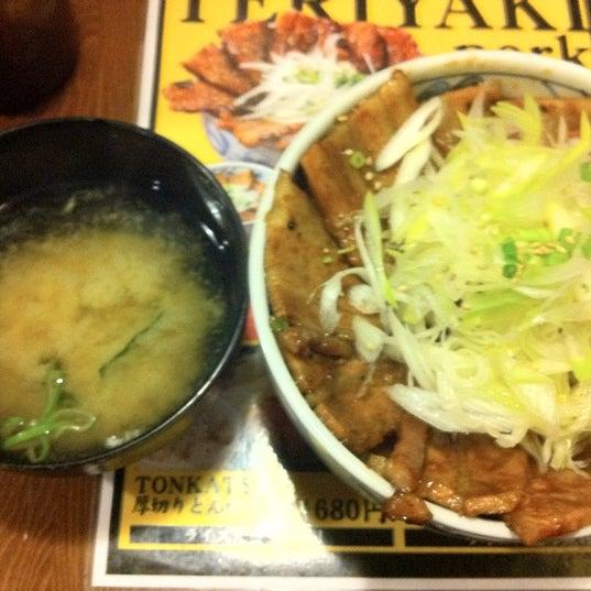 Photo taken at 日本橋 紅とん 池袋ビックリガード店 by ken s. on 12/28/2011