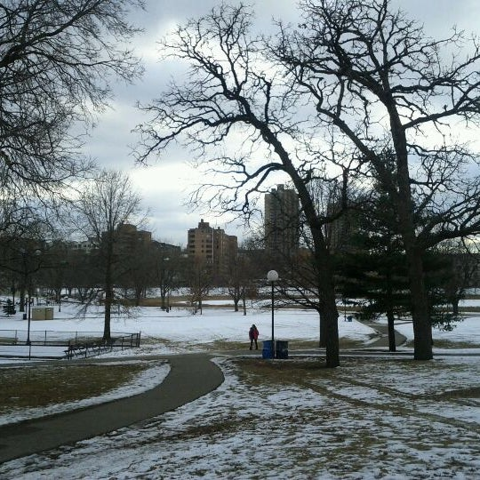 Photo taken at Loring Park by Krissy S. on 1/26/2012