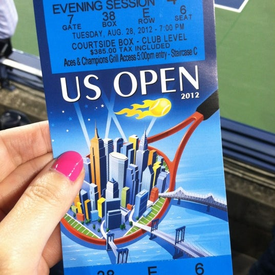 Photo taken at 2014 US Open Tennis Championships by Kelly on 8/29/2012