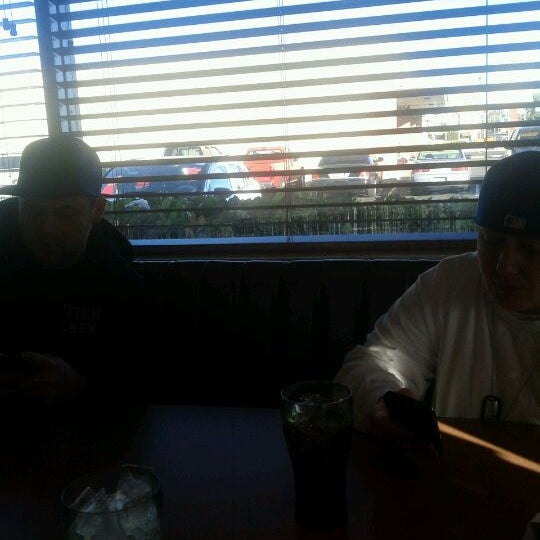 Photo taken at Denny's by David D. on 12/26/2011