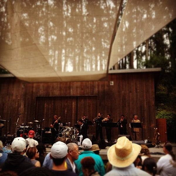 Photo taken at Sigmund Stern Grove by Henry S. on 7/22/2012