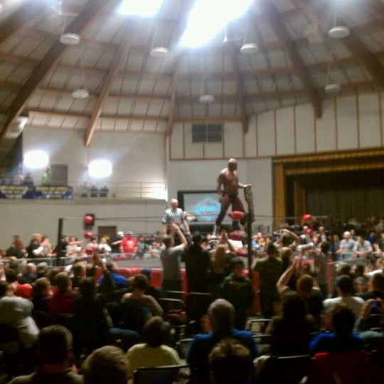 Photo taken at Waukesha County Expo Center by James B. on 12/4/2011