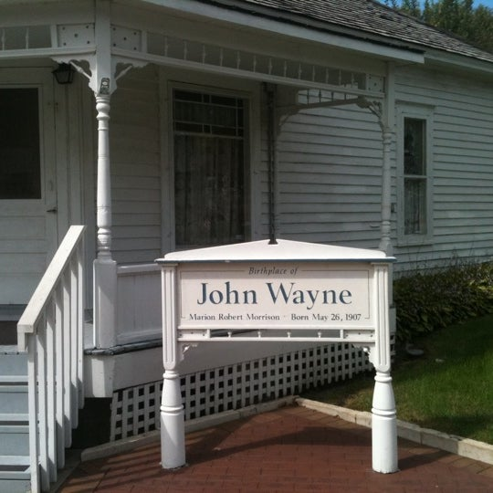 Photo taken at John Wayne Birthplace Museum by Andre P. on 9/24/2011