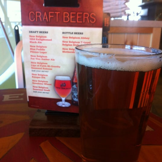 Photo taken at New Belgium Brewing Hub by Aaron M. on 3/8/2012