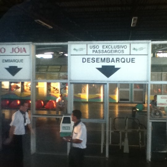 Photo taken at Terminal Rodoviário José Garcia Villar by Érika M. on 5/3/2012