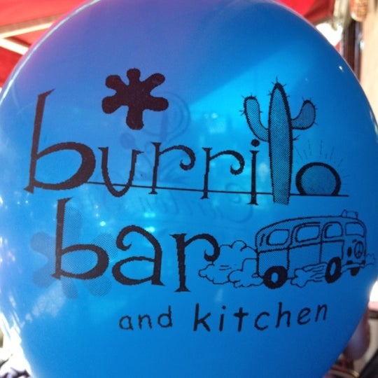 Photo taken at Burrito Bar & Kitchen by Pete P. on 5/19/2012