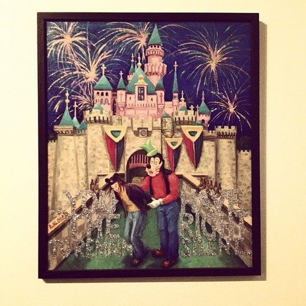 Photo taken at Vermillion Gallery & Wine Bar by Bianca C. on 11/5/2011