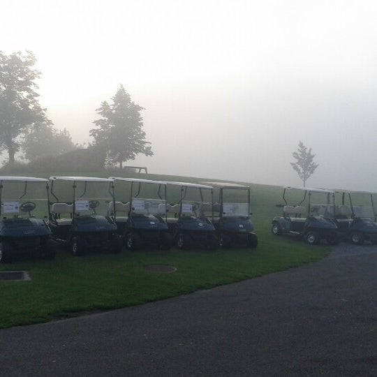 Photo taken at Ypsilon Golf Resort Liberec by Marek B. on 7/5/2012