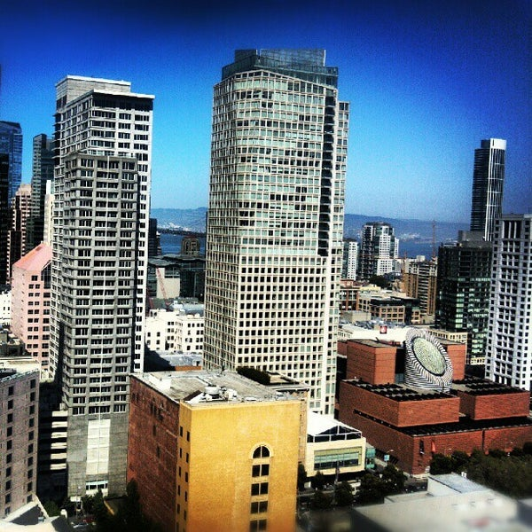 Photo taken at San Francisco Marriott Marquis by Leviticus W. on 5/11/2012