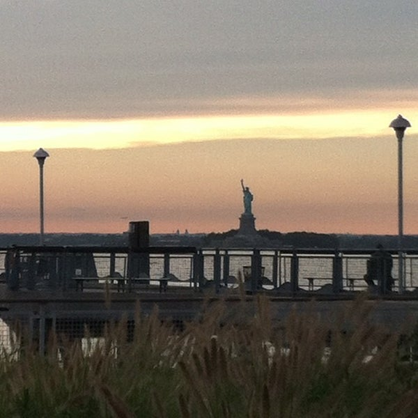 Photo taken at Louis Valentino, Jr. Park & Pier by Martha M. on 8/7/2012
