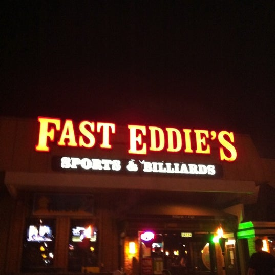 Tire Places Open Today >> Fast Eddie's Sports & Billiards - 16 tips from 834 visitors