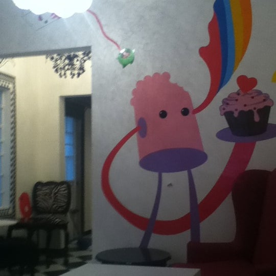 Photo taken at Sugar Blossom by laura e. on 1/23/2012