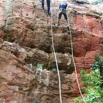 The red sandstone cliffs of Red Rock Canyon are perfect for rapelling. Casual hikers will enjoy the trails that make it easy to make it to the tops of the canyon walls. Great spot for leaf peeping.