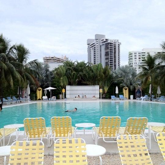 Photo taken at The Standard Spa, Miami Beach by Luis on 8/12/2012