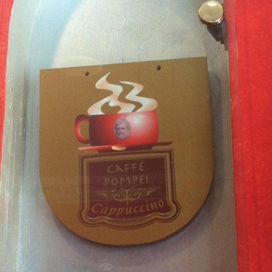 Photo taken at Caffe Pompei by Kristin K. on 8/23/2012