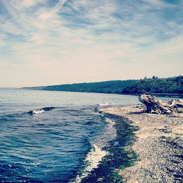 Photo taken at Carkeek Park by Kevin E. on 9/8/2012