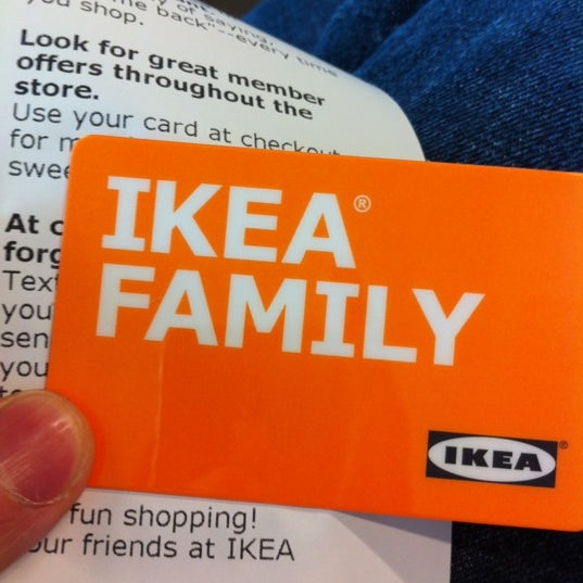 Sign up for the IKEA Family card and receive free coffee or tea at the cafeteria!