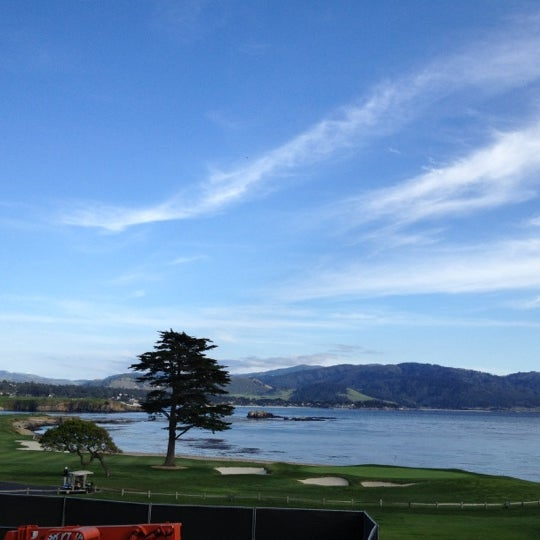 Photo taken at The Lodge at Pebble Beach by Kanchan G. on 4/25/2012
