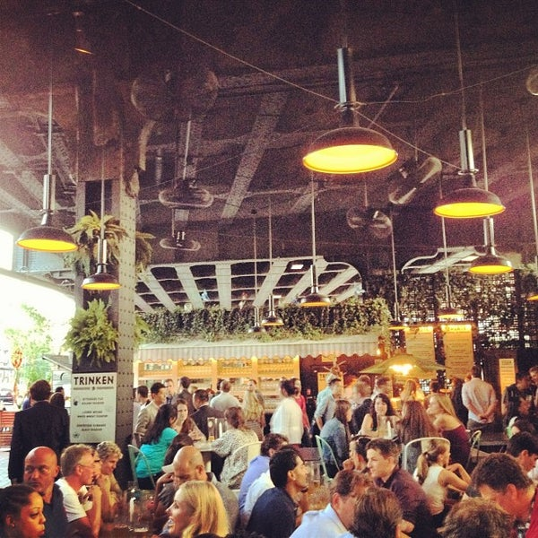 Photo taken at The Biergarten at The Standard by Sal E. on 6/20/2012