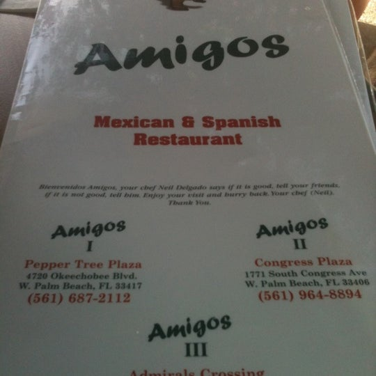 Photo taken at Amigos Mexican & Spanish Restaurant by Tori A. on 7/15/2012