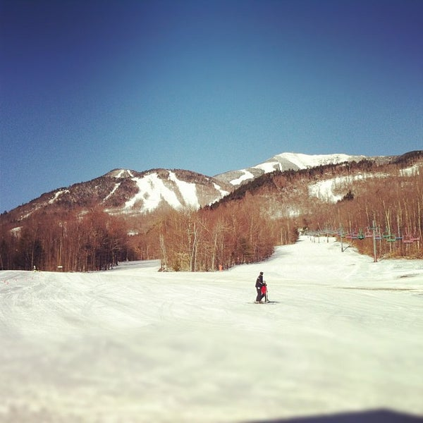 Photo taken at Whiteface Mountain by Samuel H. on 3/11/2012