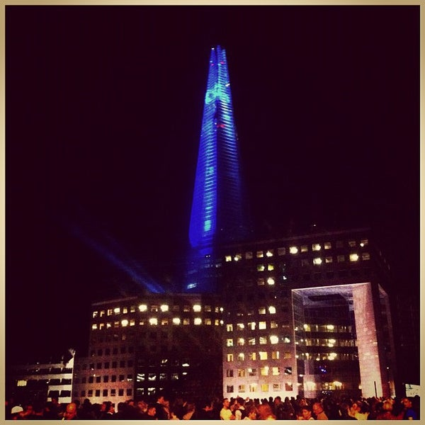 Photo taken at London Bridge by Chris K. on 7/5/2012