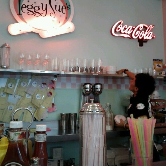 Photo taken at Peggy Sue's by M L. on 10/11/2011