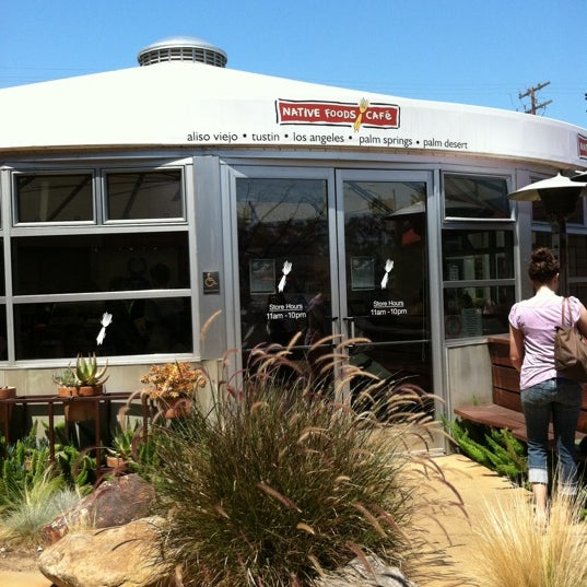 Photo taken at Native Foods Café by J G. on 7/30/2011