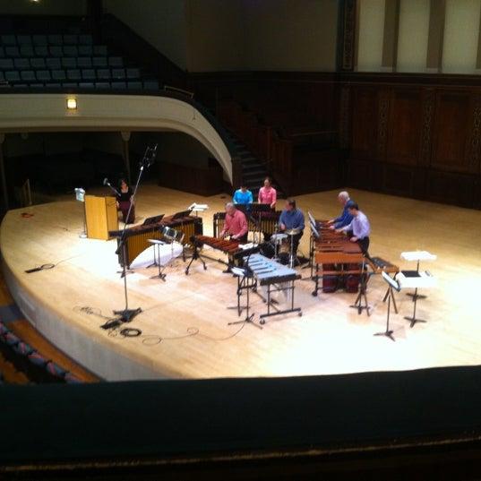 Photo taken at Hochstein School of Music & Dance by Andrew W. on 3/21/2012