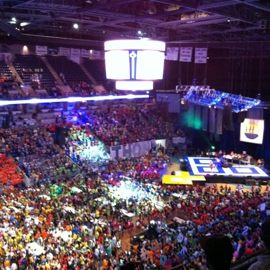 Photo taken at Bryce Jordan Center by Jordan P. on 2/18/2012
