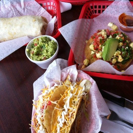 Photo taken at Tia Cori's Tacos by Terrone C. on 4/14/2012