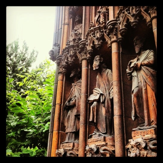Photo taken at Church of the Holy Trinity (Episcopal) by Matt B. on 6/22/2012