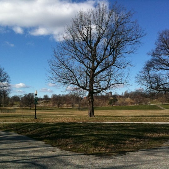 Photo taken at Patterson Park by Kristen J. on 1/18/2012