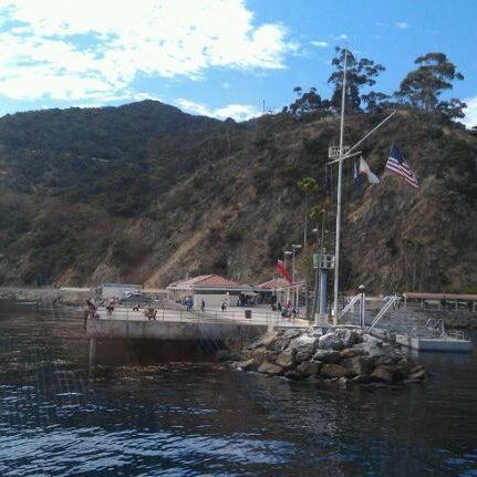 Photo taken at Santa Catalina Island by Evan C. on 8/22/2011