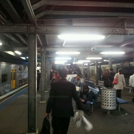 Photo taken at Bankstown Station by Mr G. on 5/29/2012