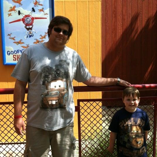 Photo taken at Goofy's Sky School by Jamie R. on 6/17/2012