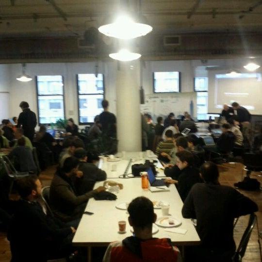 Photo taken at NYU ITP by David G. on 1/21/2012