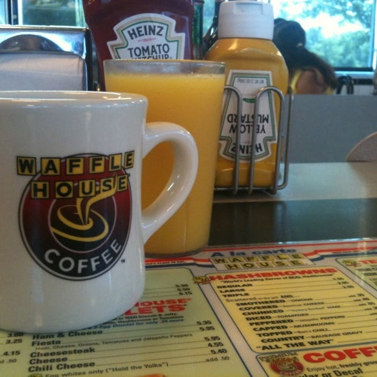 Photo taken at Waffle House by Andrea P. on 7/9/2011