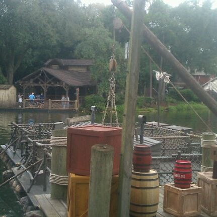 Photo taken at Frontierland by andrew on 10/28/2011