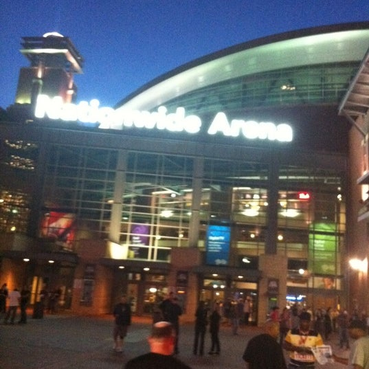 Photo taken at Nationwide Arena by Stanley A. on 9/22/2011