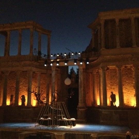 Photo taken at Anfiteatro Romano by Luis G. on 7/12/2012