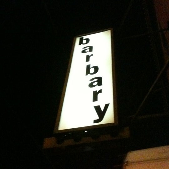 Photo taken at The Barbary by Brandon S. on 6/15/2012