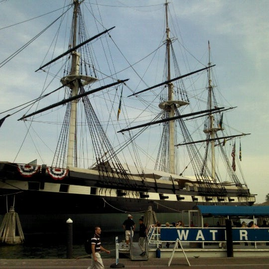 Photo taken at USS Constellation by Darell on 7/3/2012