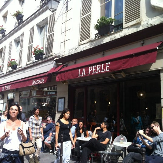 Photo taken at La Perle by Candice A. on 6/17/2012