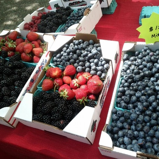 Photo taken at Portland Farmer's Market at PSU by Leslie on 7/28/2012