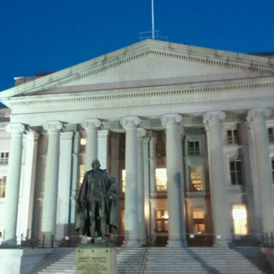Photo taken at US Department of the Treasury by Ramana R. on 8/24/2011