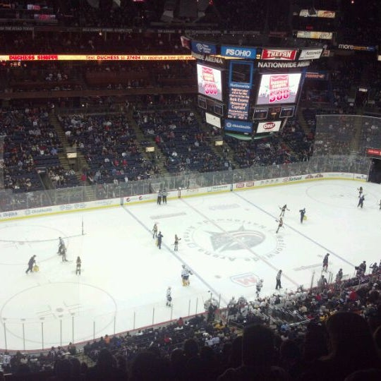 Photo taken at Nationwide Arena by Scott D. on 1/20/2012